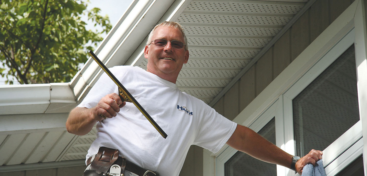 Exceptional window, siding and eavestrough cleaning services in Peterborough and the surrounding area